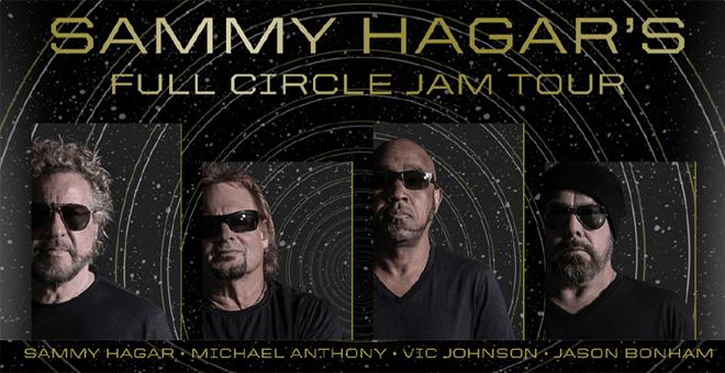 sammy hagar 39 s full circle jam tour coming to st louis 96 7 kcmq classic rock. Black Bedroom Furniture Sets. Home Design Ideas