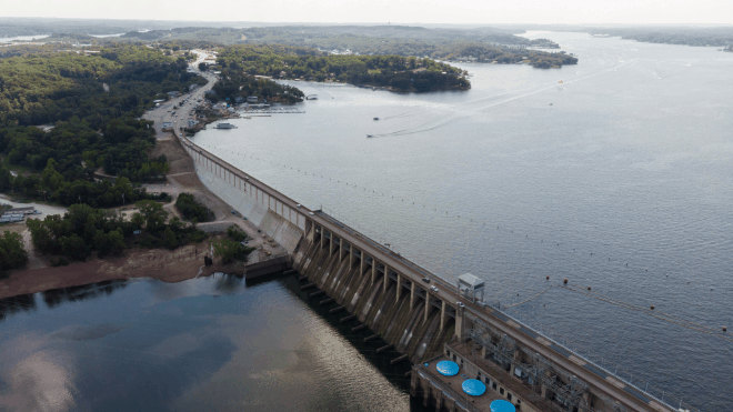 Lake Of The Ozarks Bagnell Dam